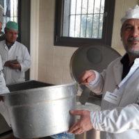 Итальянские сыры: Подготовка молока